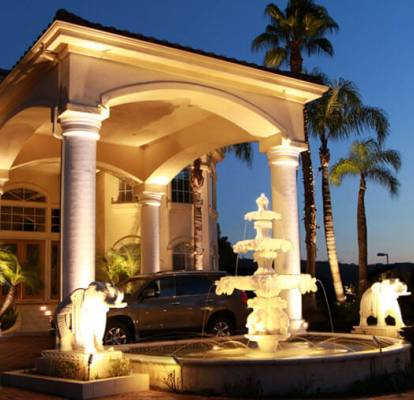 Column accent lights , fountain and sculpture accent lights