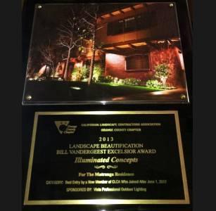 California Landscape Contractor Assoc Award