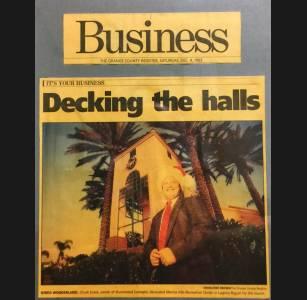 Orange County Register Article Dec 1993