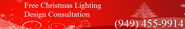 Orange County Christmas Lighting Design Offer