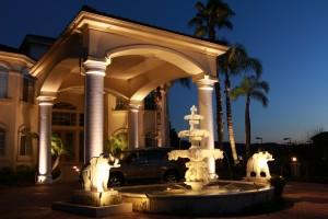 LED outdoor lighting, led landscape lighting, Diamond Bar CA, LA landscape lighting, architectural accent lighting, lighting installation, Lighting contractor