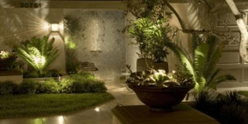 LED Light Installations For Backyard Landscape