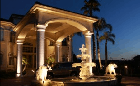 LED Landscape Lighting Installation in Diamond Bar California