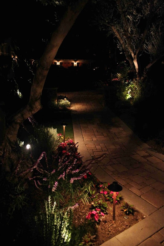 Discreet Path Lighting