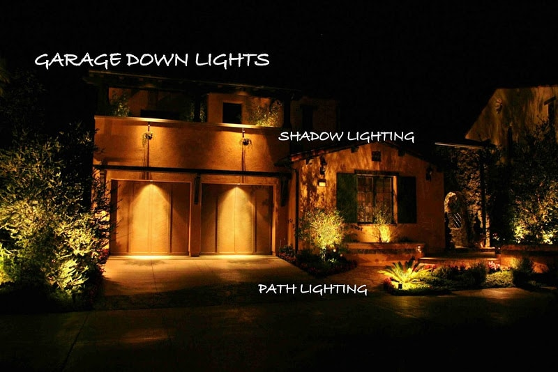 Garage Down Lights