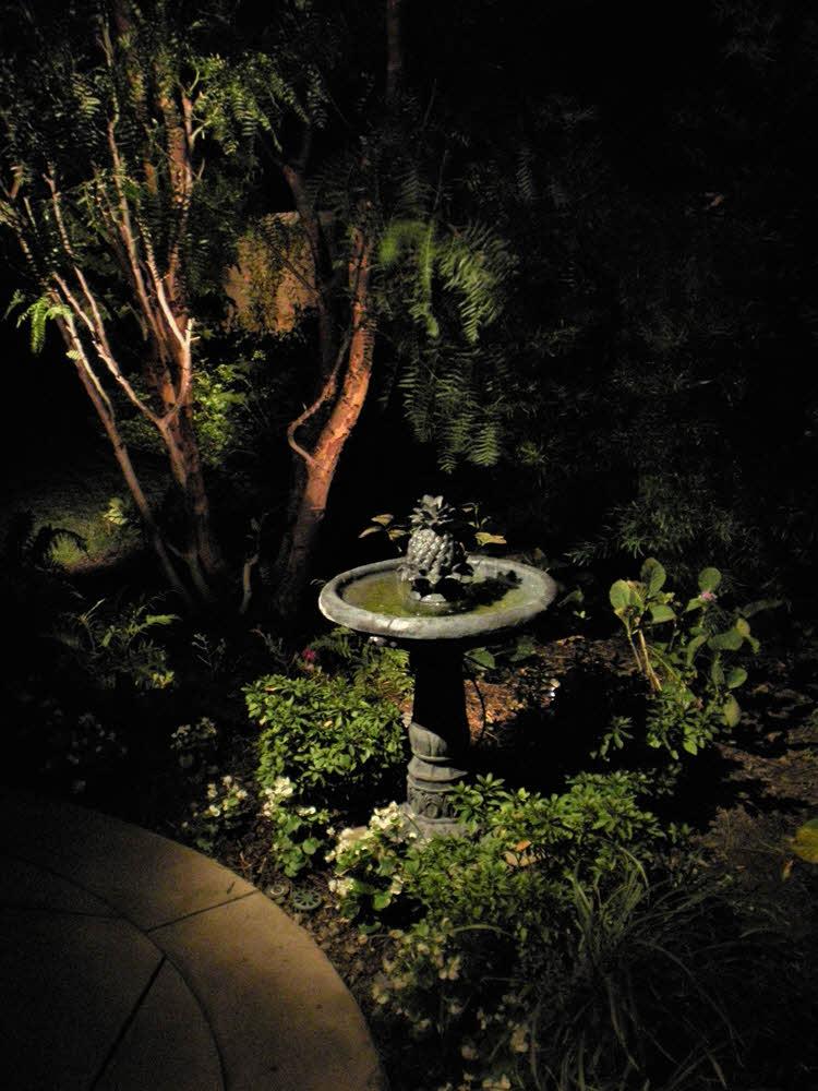 Lighting Solution for Pineapple Fountain