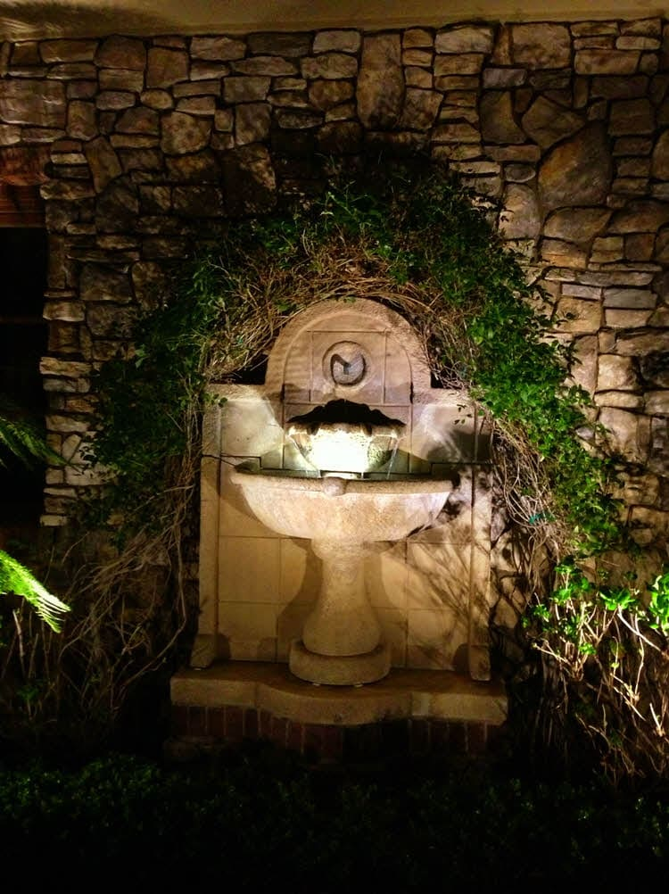 Lighting Solutions for Small Fountains