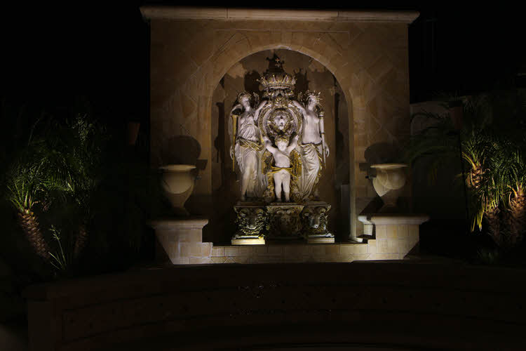 Lighting Installations for Structures and Fountains