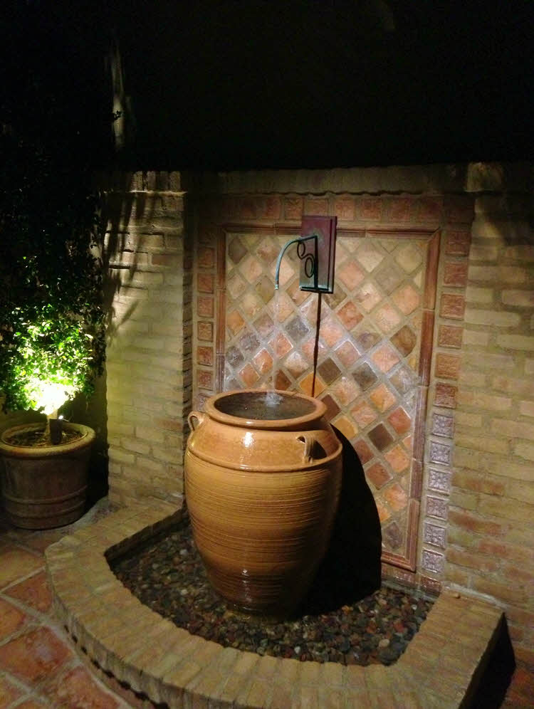 Fountain Lighting for your home