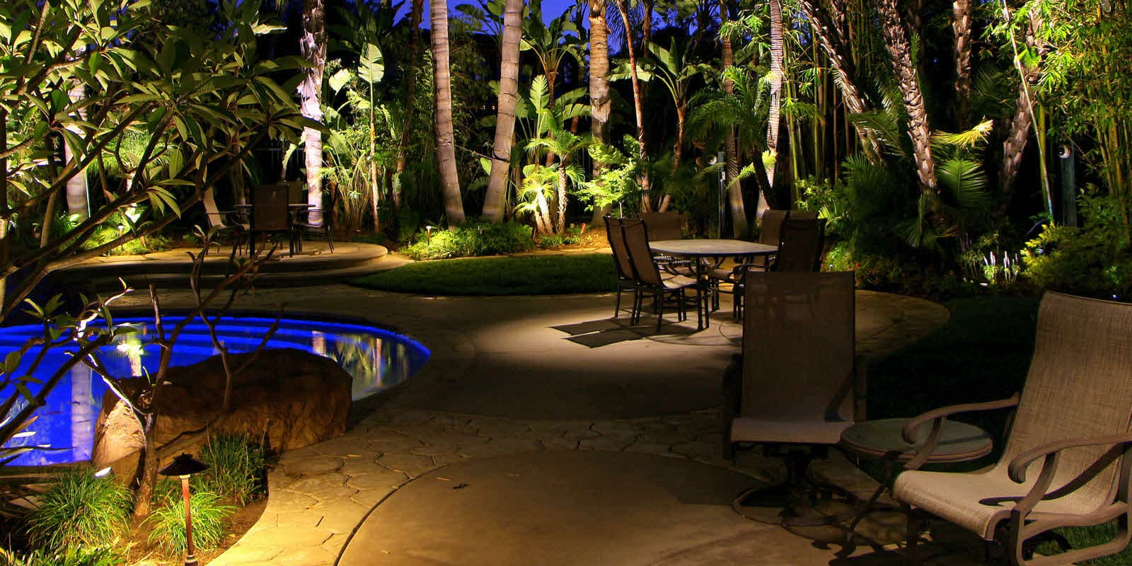 Illuminated concepts for Outdoor lighting concepts
