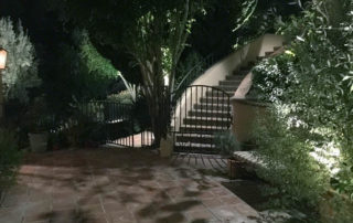Moonlighting vs Outdoor security lighting