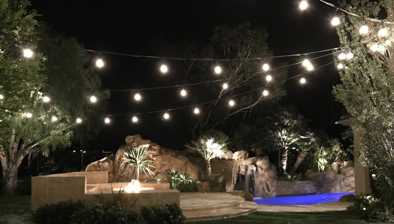 Poolside Lighting Solution