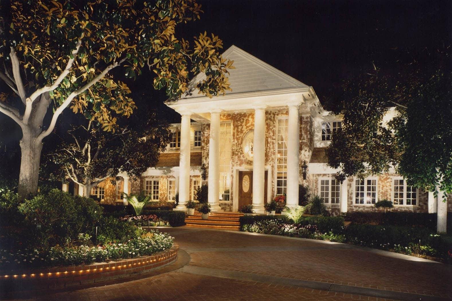 Outdoor Lighting Design Services Laugana hills & Orange County Ca