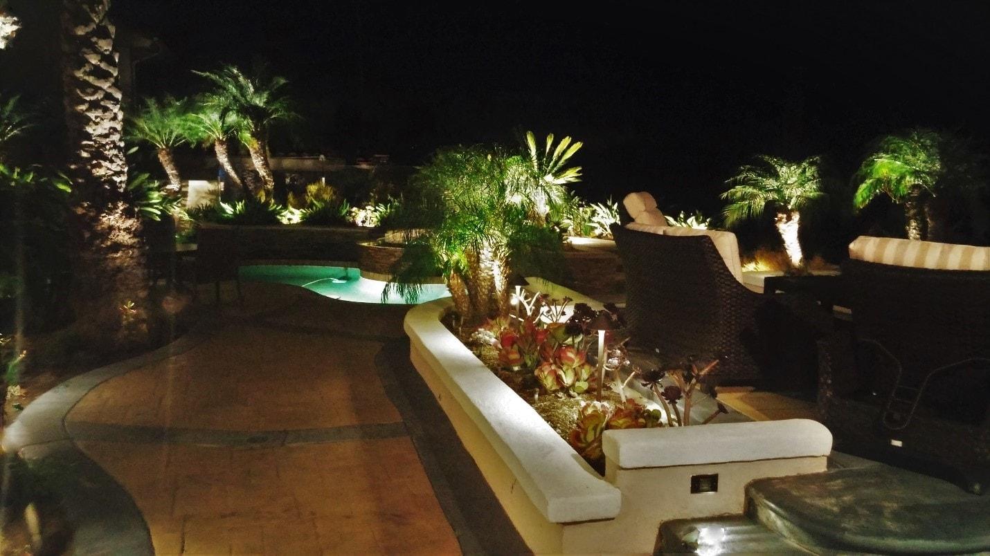Outdoor Lighting in Laguna Migel Home