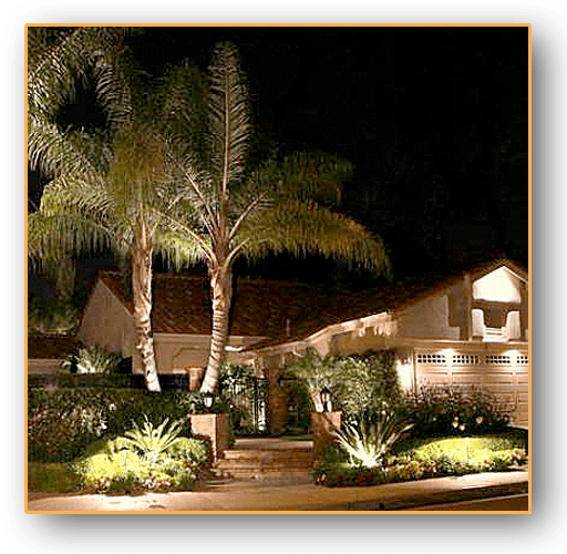 Peak & Garage Lights Laugana hills & Orange County Ca