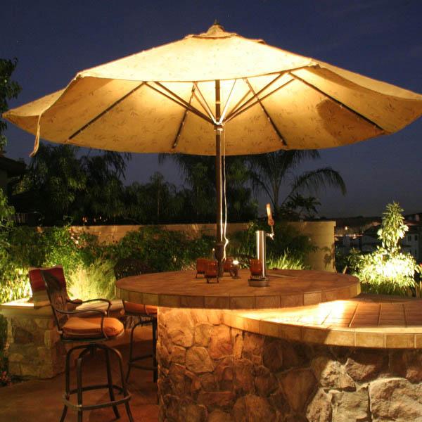 Patio lighting Laugana hills & Orange County Ca