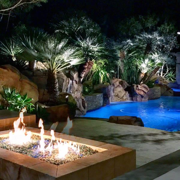 Pool Lighting Laugana hills & Orange County Ca