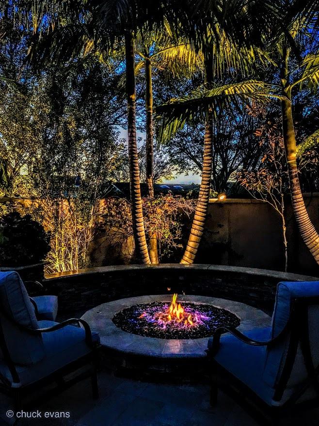 Huntington Beach outdoor lighting