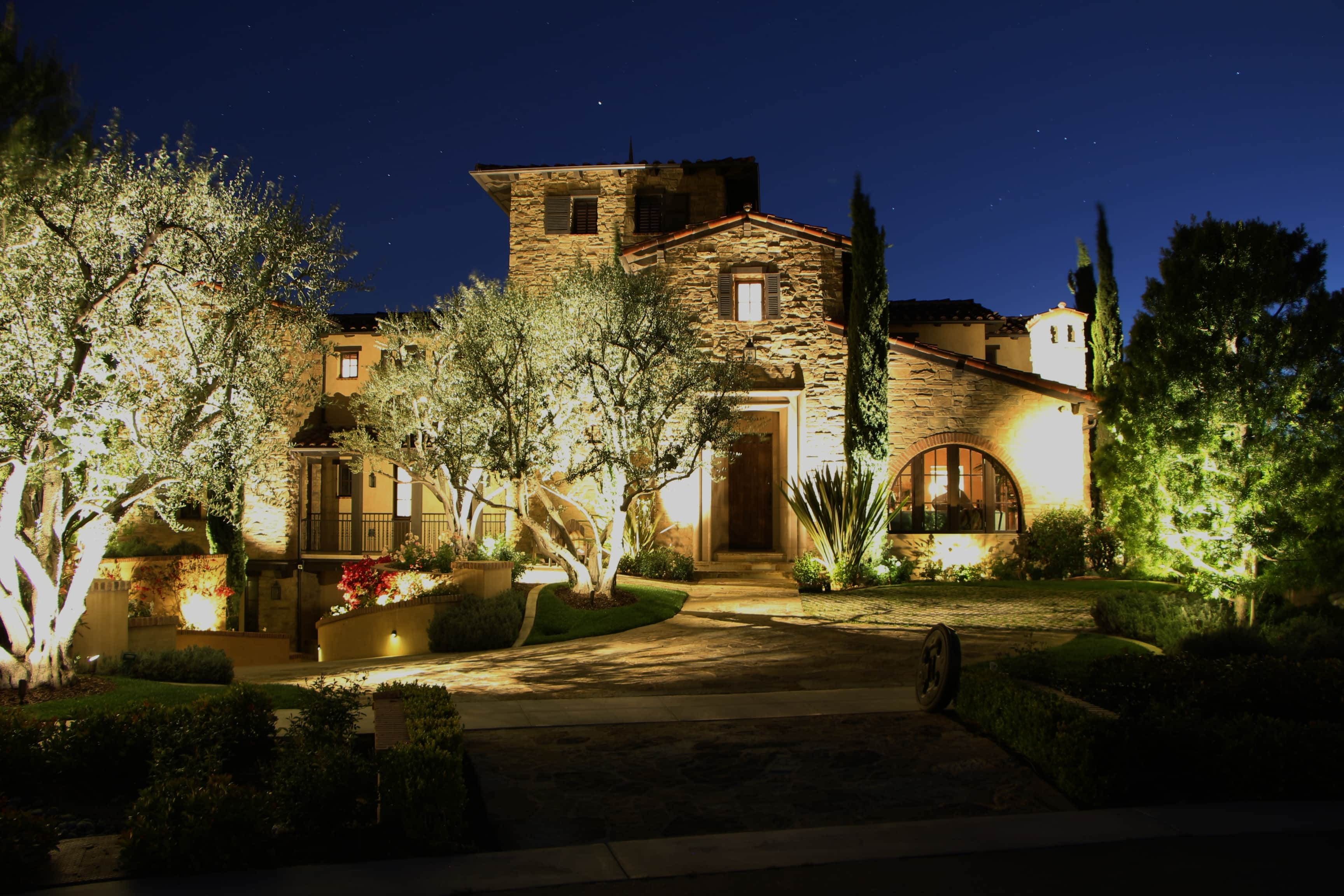 LED Outdoor Lighting Installation for Orange County 1