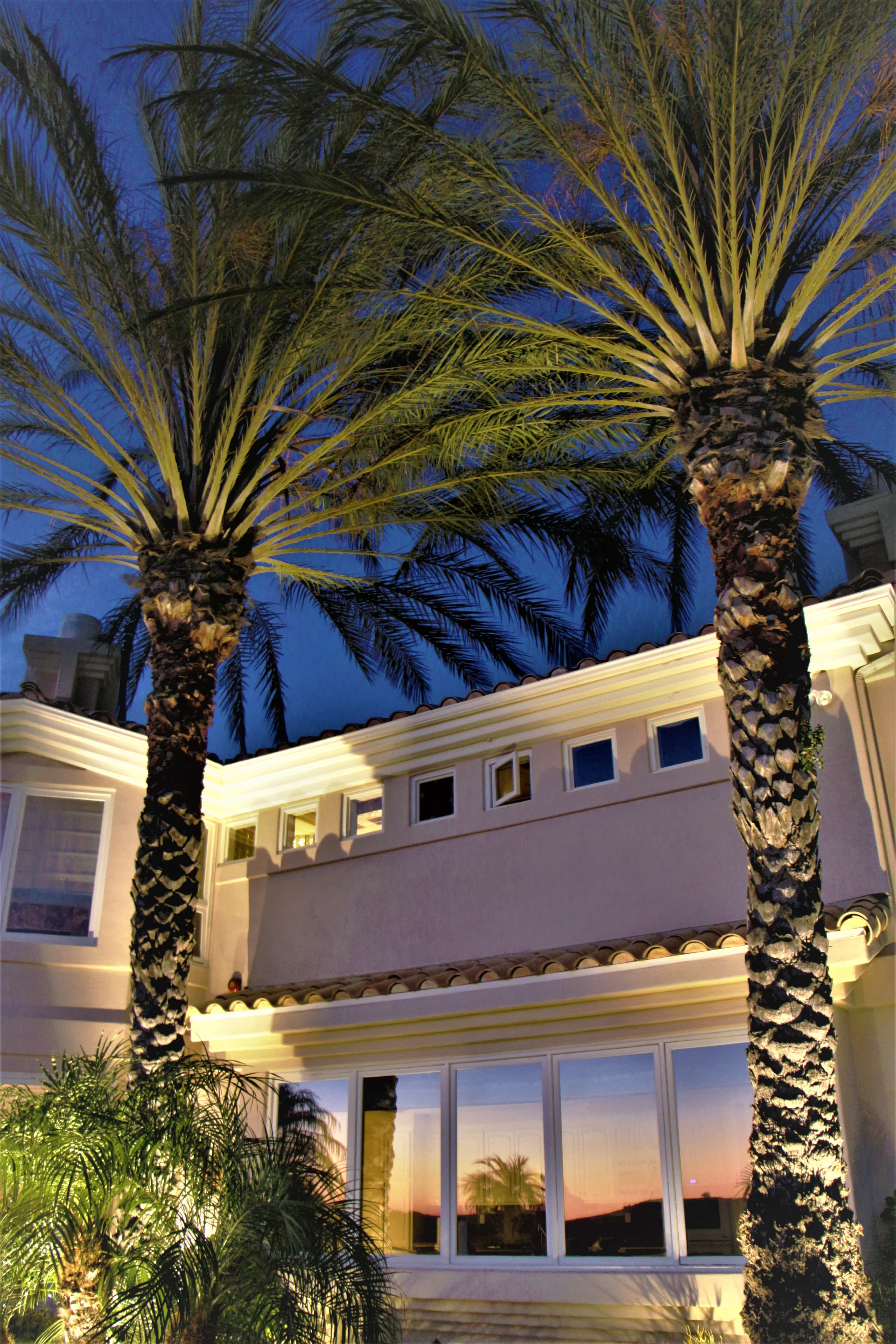 San Clemente Home gets Outdoor Landscape Lighting Installation 1
