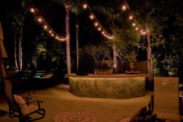 Patio String lighting