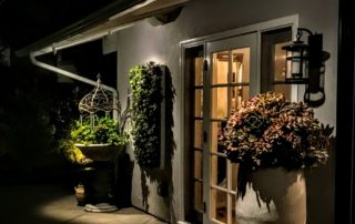Huntionto beach, patio lighting, outdoor lighting design