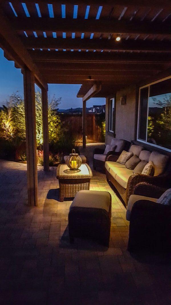 Oceanside Outdoor Lighting for Extended Living Space