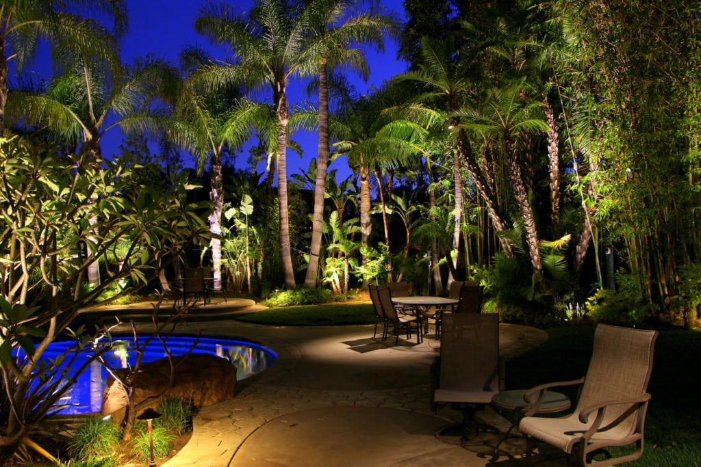 Landscape Lighting for your outdoor living space.